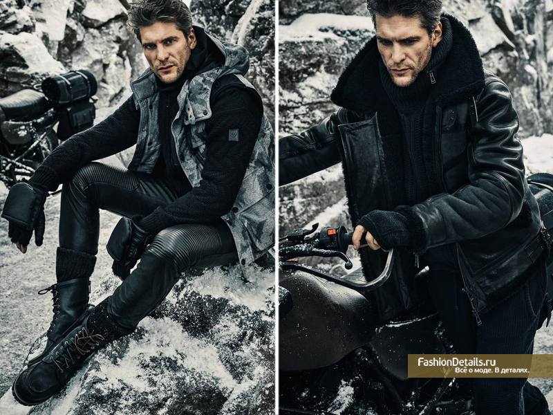 Lookbook Belstaff Зима-2016
