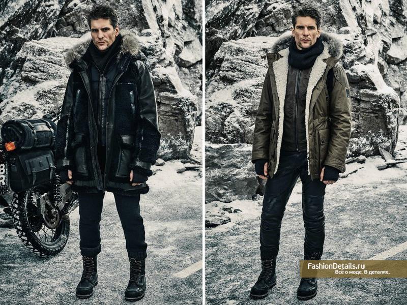 модные зимние куртки для мужчин 2016