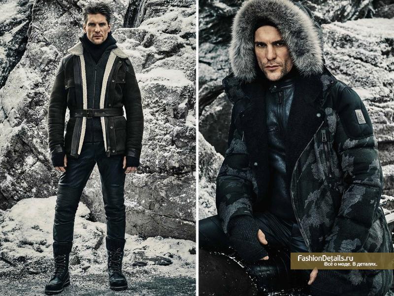 модный зимний мужской гардероб