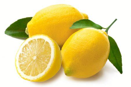 правильное питание для красивой кожи - лимон