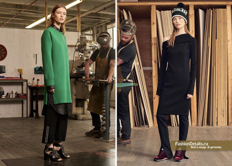 с чем носить трикотажное платье 2017