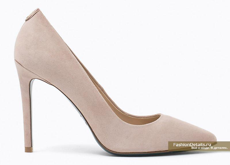 Замшевые туфли лодочки Patrizia Pepe