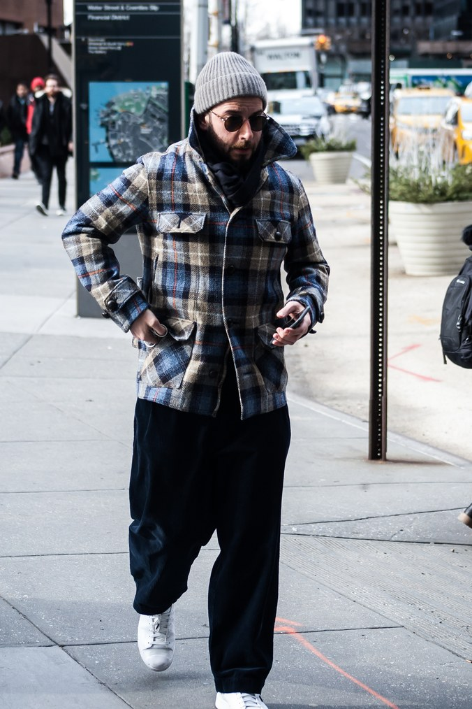 Street style at New York Men's Fashion Week Fall 2017 1