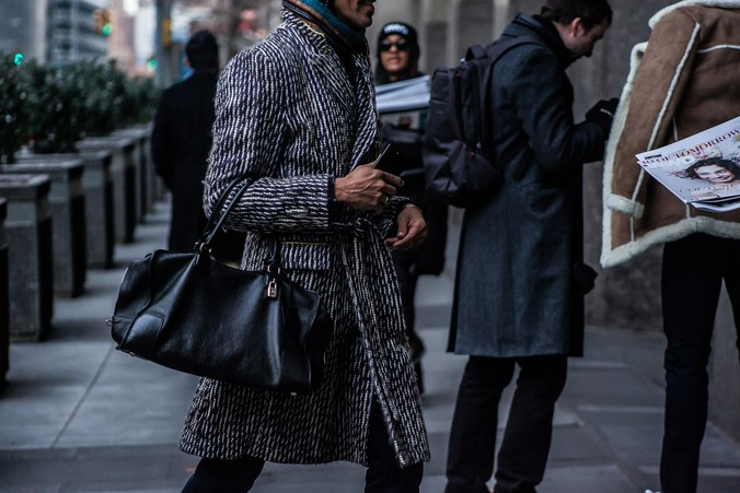 Street style at New York Men's Fashion Week Fall 2017 2