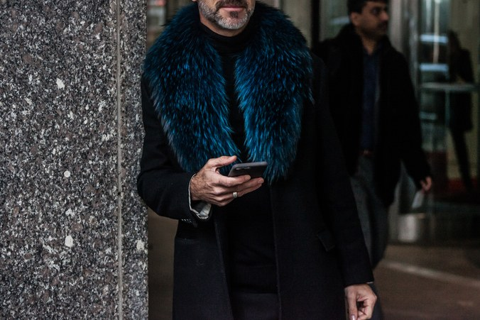 Street style at New York Men's Fashion Week Fall 2017 3