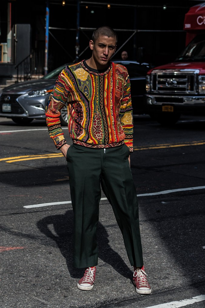 Street style at New York Men's Fashion Week Fall 2017 6