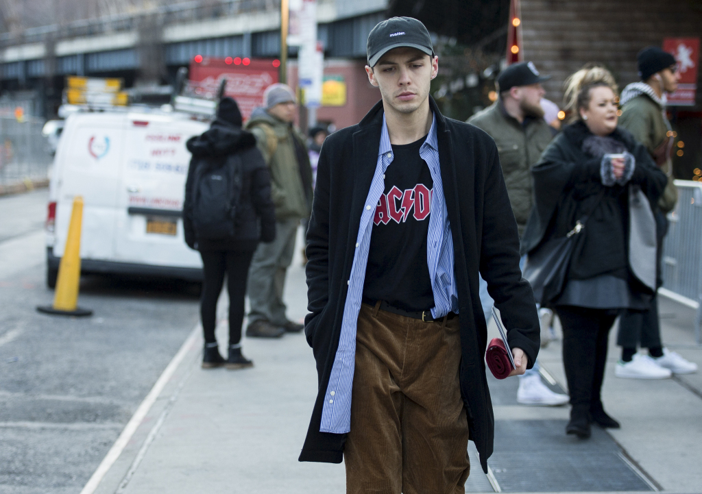 Street style at New York Men's Fashion Week Fall 2017 14