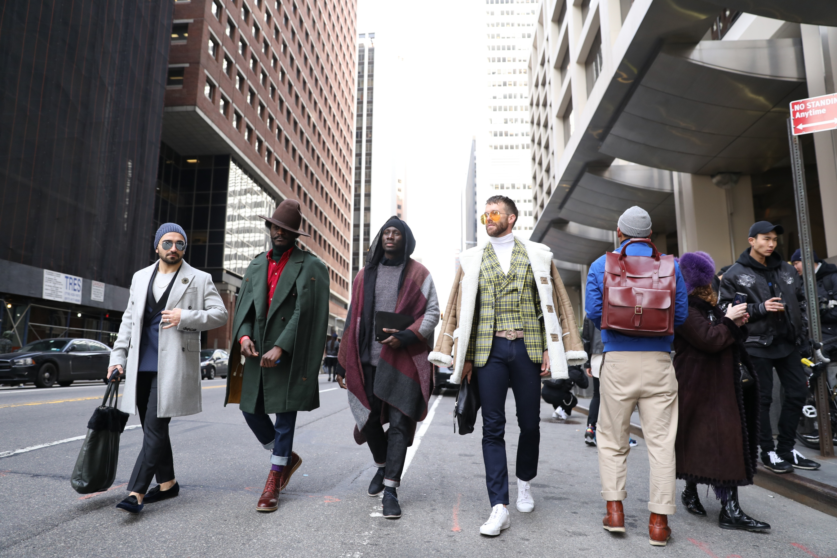 Street style at New York Men's Fashion Week Fall 2017 32