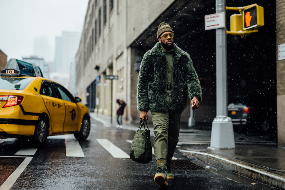 Street style at New York Men's Fashion Week Fall 2017 23