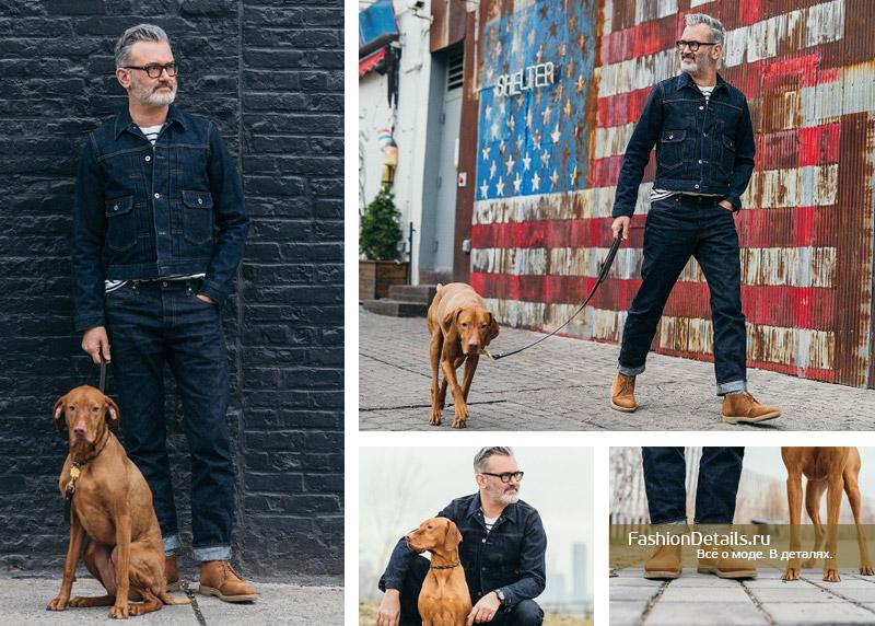 джинсовая одежда для мужчин, как носить деним модно