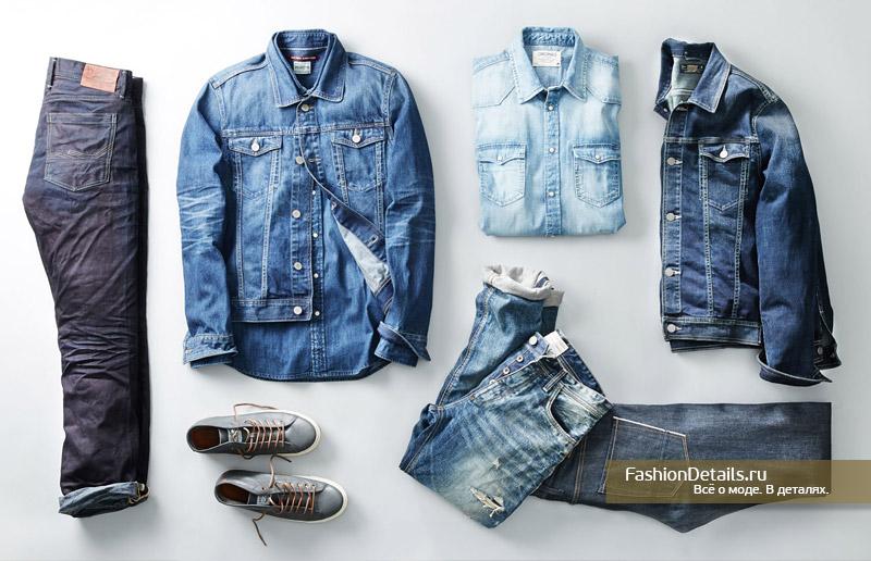мужская одежда джинсовая 2017