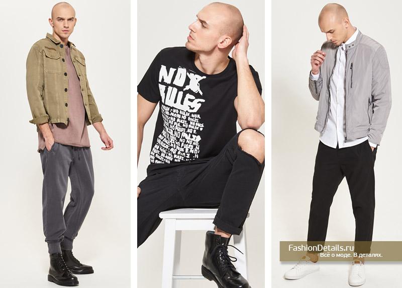модная одежда для мужчин весна 2017