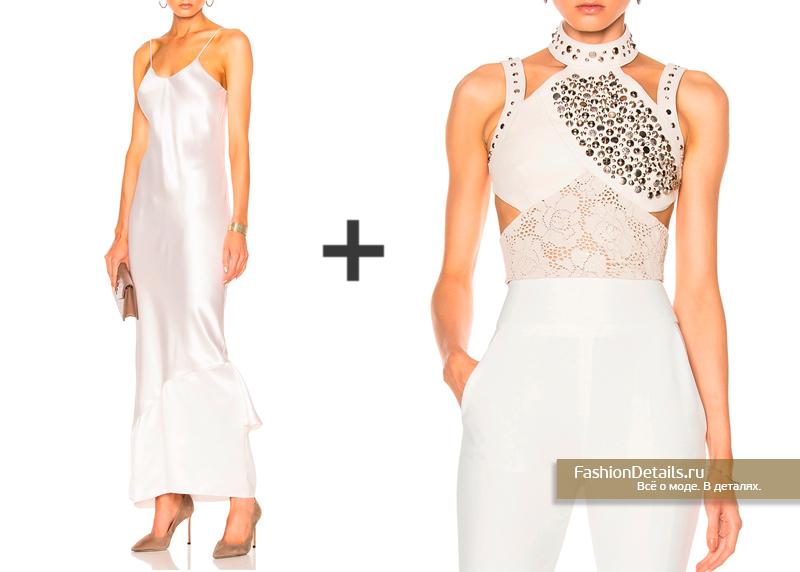 Невеста 2017: Платье от RYAN ROCHE, топ от RODARTE