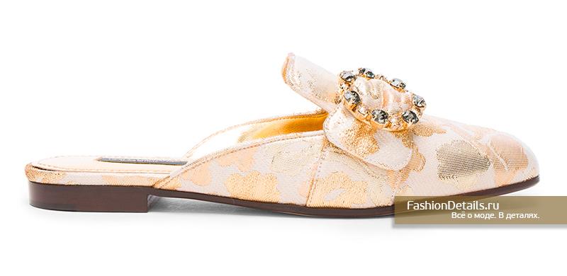 обувь для невесты: Мюли от DOLCE & GABBANA