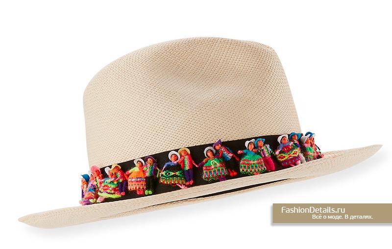 Шляпы с лентой и тесьмой