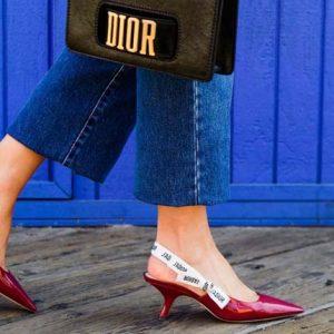 Модные новости: Туфли от Dior для Bergdorf Goodman