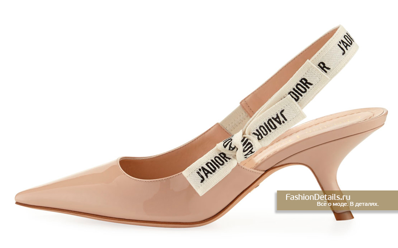 Туфли бежевые лаковые Dior - J'Adior