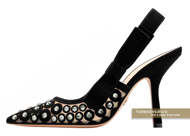Туфли с кристаллами Dior - D-Mesure