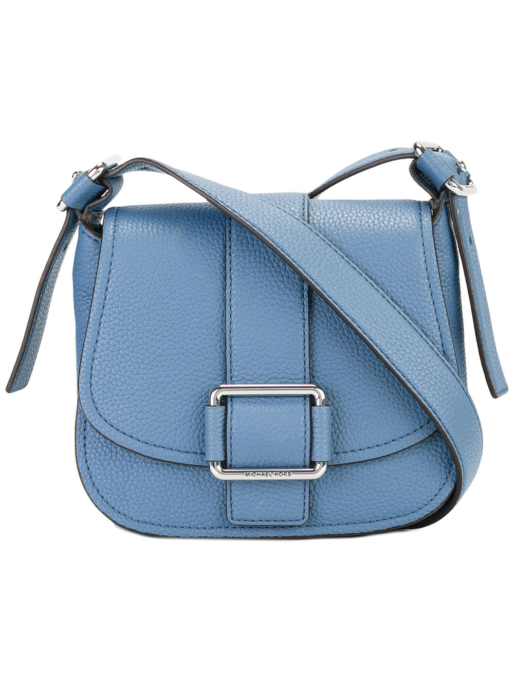 небольшая сумка голубого цвета майкл корс