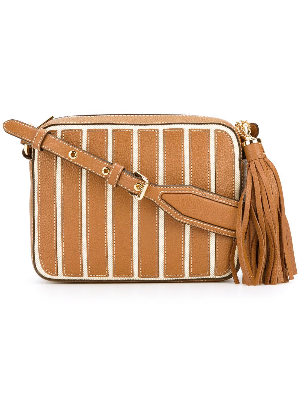 маленькая коричневая сумка Michael Michael Kors