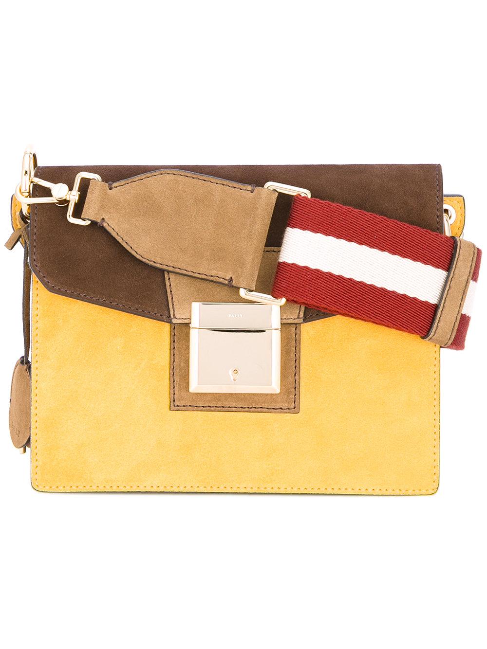 трехцветная модная сумка