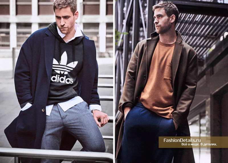 стильный мужской образ casual 2017