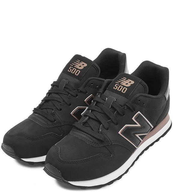 NEW BALANCE Черные кроссовки