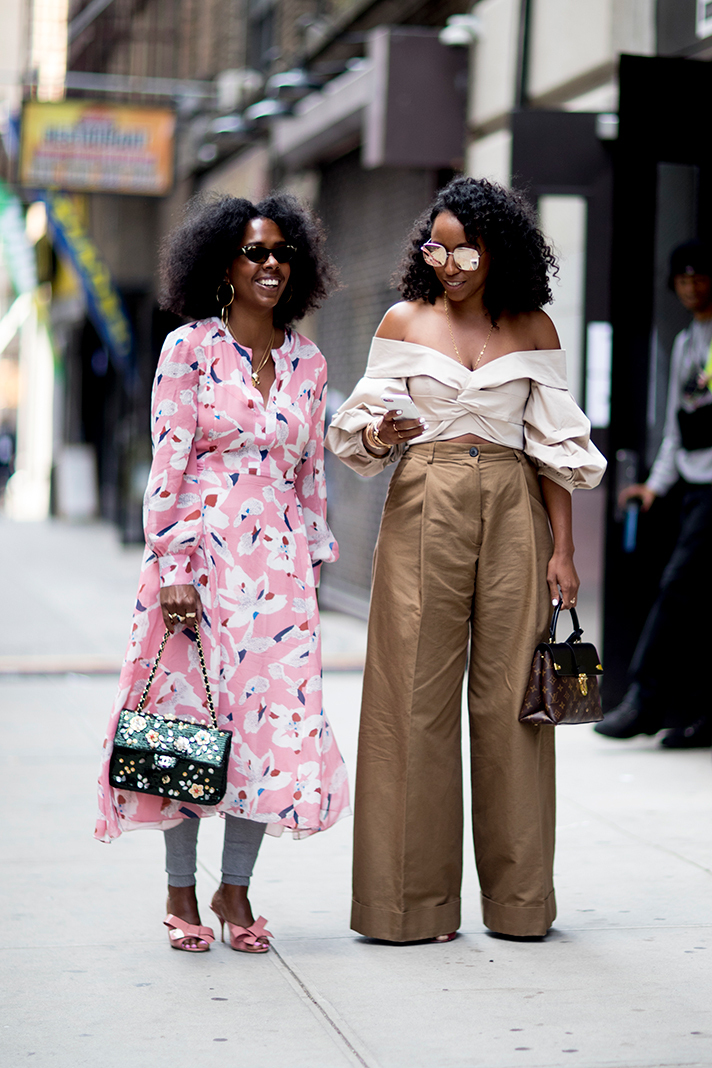 Street Style New York Fashion Week Spring 2018 Fashion Details