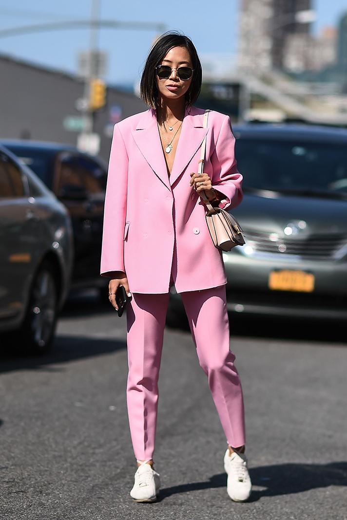 Street Style New York Fashion Week Spring 2018 Fashion Details