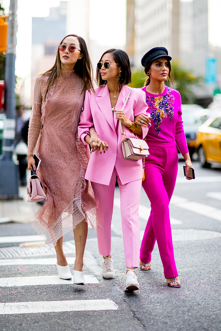 Street Style New York Fashion Week Spring 2018 Fashion