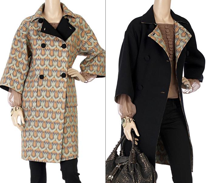 Пальто женское миссони из ткани модные сумки bottega veneta