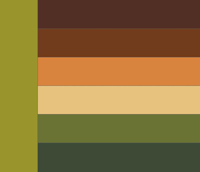 Путаю зеленый и коричневый