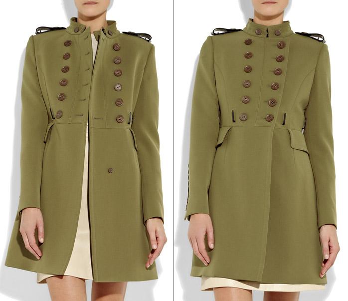 Пальто в стиле милитари сшить 29