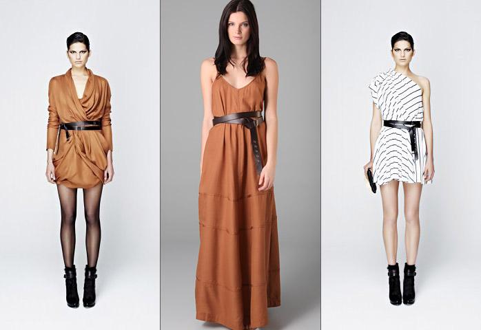 С чем носить модный ремень