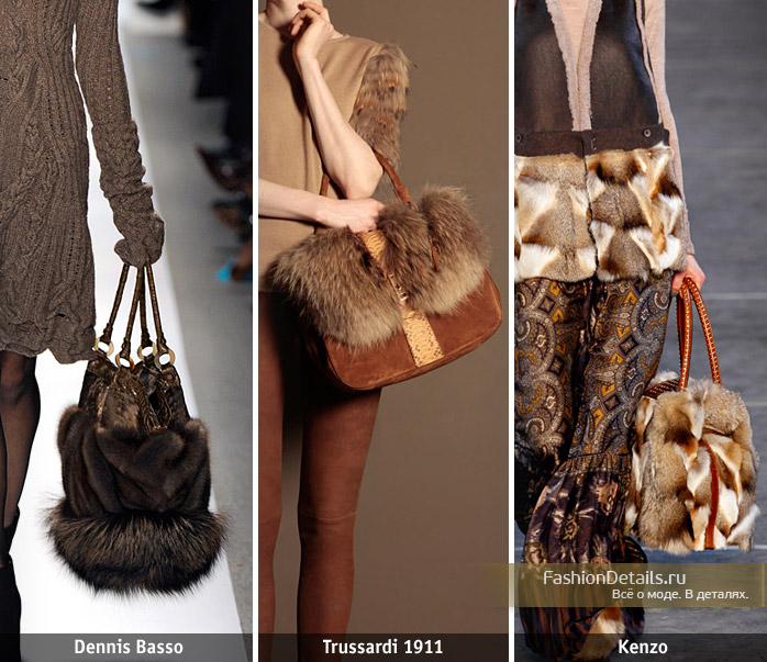 Как сделать сумку своими руками мех